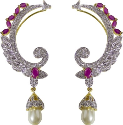 Jewelgrab Sai-Ad-R-Kanphool 1 Alloy Cuff Earring
