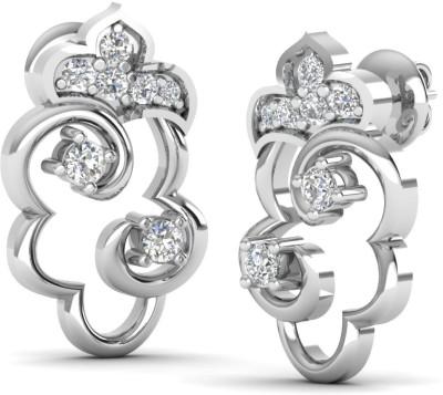 Caratify Unicorn White Gold 14kt Diamond Stud Earring