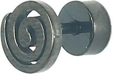 Little Goa Golden Spiral Metal Body Piercing-8 mm Metal Plug Earring