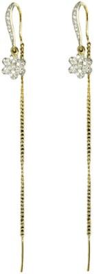 Paradise Sparkle Trendy Brass, Copper Ear Thread