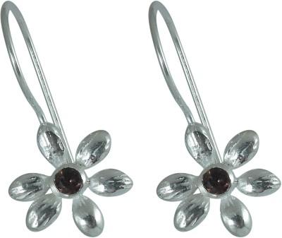 Miska Silver Princess Cut Silver Dangle Earring