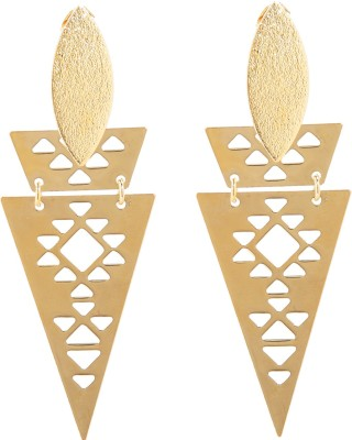Sir Michele Spring Sparkle Metal Drop Earring