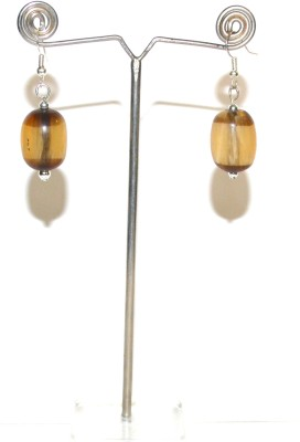 Deal And Gift One Bead Resin Drop Earring