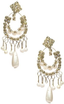 Shine My Life Pleasant Alloy Chandbali Earring