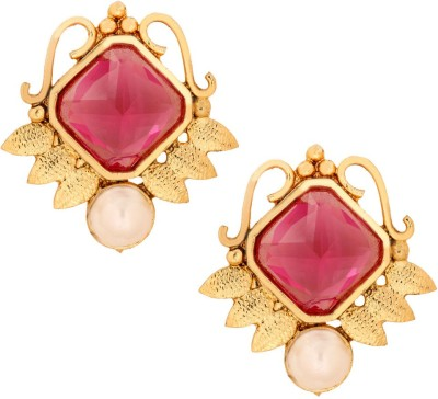 the jewelbox Victorian Antique Copper Stud Earring