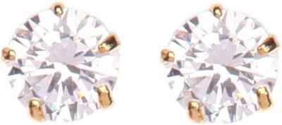 Crimson21 Artificial Diamond Earrings Alloy Stud Earring