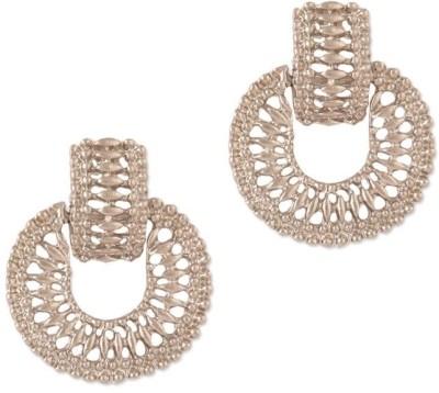 Circuzz Alloy Chandbali Earring