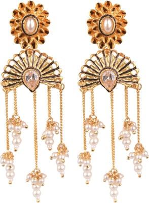 The Kewl Korner Fashion Earrings Brass Dangle Earring