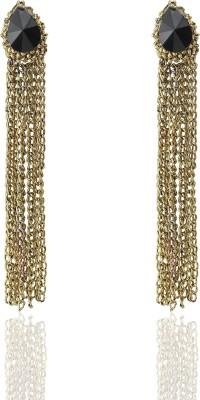 Castle Street Alluring Gold Alloy Tassel Earring