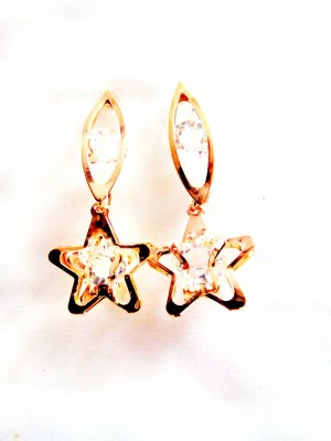 maya creation party were Yellow Gold Tunnel Earring