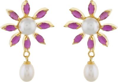 Classique DesignerJewellery Beautiful Pearl Alloy Earring Set