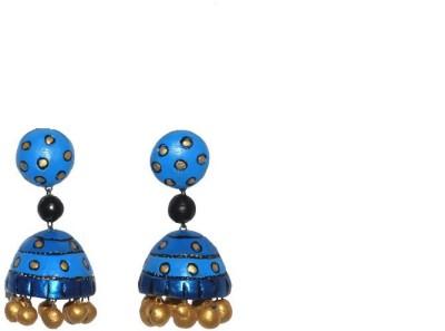 Aanya Creations Lovely Ceramic Jhumki Earring