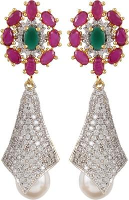 Trend Overseas AD__011 Copper Drop Earring