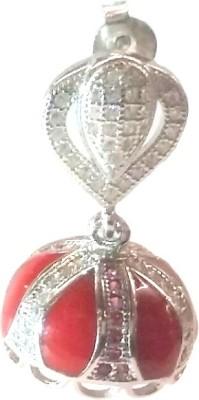 Vummidi Bangaru Chetty & Sons Dazzling Jumkhas Sterling Silver Jhumki Earring