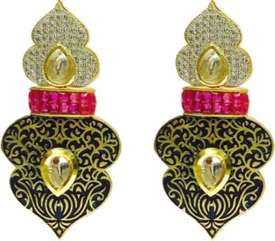 RK Style RKE303-P285 Brass Drop Earring