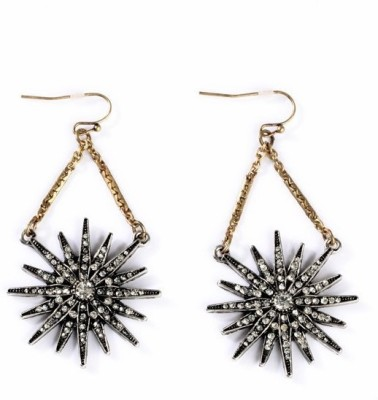 femnmas Hanging Star Celebrity Zinc Dangle Earring