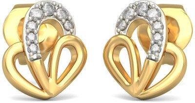 Joyra Bewitching Swarovski Zirconia Sterling Silver Stud Earring
