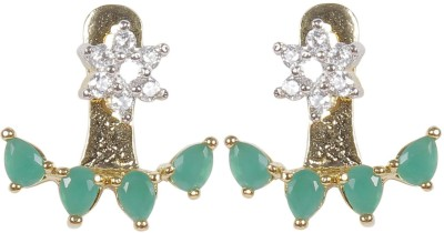 Muchmore Party Wear And Wedding Jewellery For Woman And Girls Zircon Alloy Stud Earring