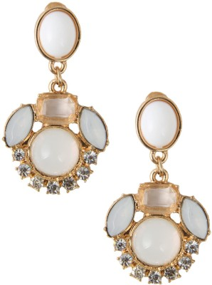Jewelizer Style Diva Crystal Alloy Drop Earring