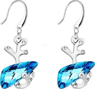 Nevi Reindeer Swarovski Crystal, Crystal Alloy, Crystal Dangle Earring