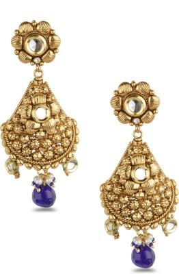 Bridesmaid Crystal Copper Drop Earring