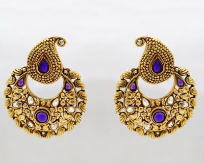 yash creations ethnic01 Metal Chandelier Earring