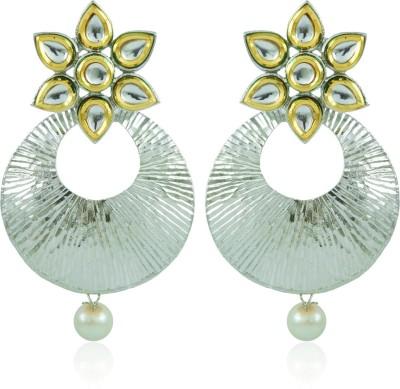 BoBell Vindali Flower Glitzy Jhumki Copper Chandbali Earring