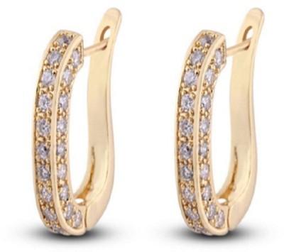 Stile Hoop Earrings Crystal Hoop Earring