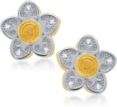 Sukkhi Sleek Micro Pave Cubic Zirconia Alloy Stud Earring