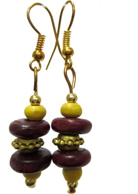 DCS Thumki Wood Dangle Earring