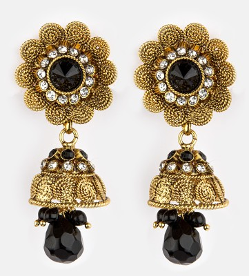 Bridesmaid Cubic Zirconia Copper Drop Earring