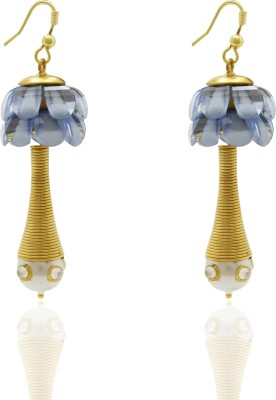 Ishaani Love Forever Alloy Dangle Earring