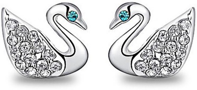 Womanwa Sophisticated Swan Metal Stud Earring