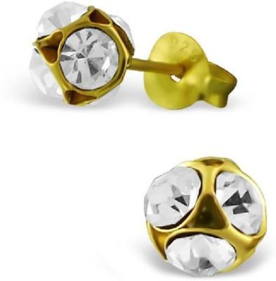 Maayin TuLip - Gold Sterling Silver Stud Earring
