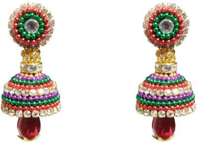 NKL Creations NKL Creations qj42 Paper Jhumki Earring