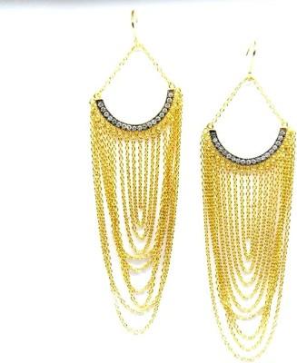 E-Designs ERG49GP1393-1280 Alloy Tassel Earring