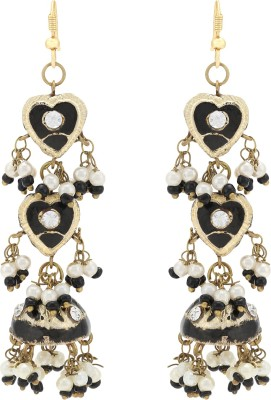 Happy States Hearts Lac Dangle Earring