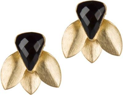 Mehtaphor Parni_3 Brass Stud Earring