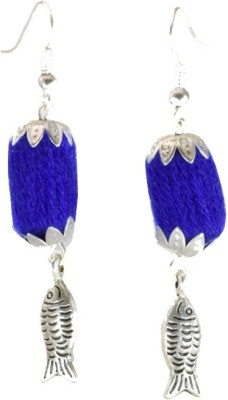 Ba No Batwo fish Cotton Dori Dangle Earring