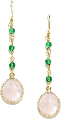 Dressberry Premium Beads Metal Drop Earring at flipkart