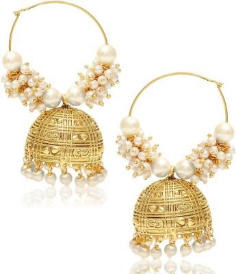 Jewels Galaxy Royal Traditional JE-131 Alloy Jhumki Earring
