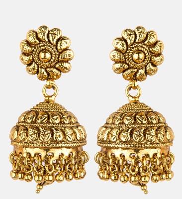 Bridesmaid Copper Jhumki Earring