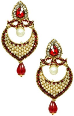 Shine My Life Maharaja Alloy Chandbali Earring