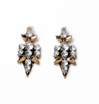 femnmas Crystal Celebrity Fashion Drop Zinc Dangle Earring