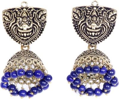 Saraa Spring Sparkle Cubic Zirconia Metal Jhumki Earring