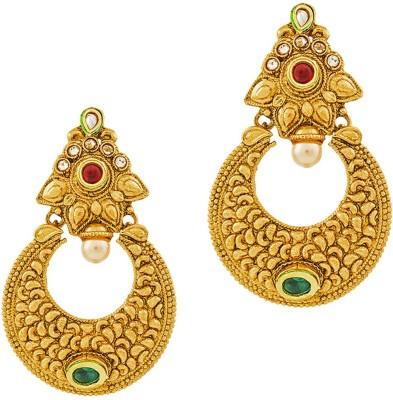 REEVA FASHION JEWELLERY CHANDELIER EARRINGS Zinc Chandbali Earring
