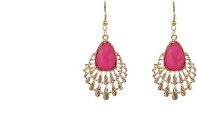 A Bit of Me Trendy Pink Alloy Dangle Earring