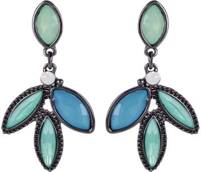 Trendy Baubles YAER2596 Crystal Metal, Acrylic, Crystal Drop Earring