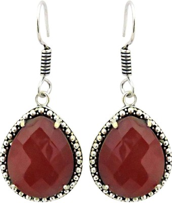 Cultural Fusion red stone earring Alloy Drop Earring