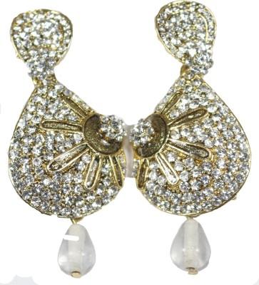 Navisha Trending Stone Style Metal Drop Earring